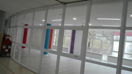 Panel acristalado