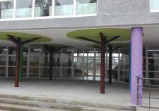 Sala multiusos del CEIP de Barouta en Ames